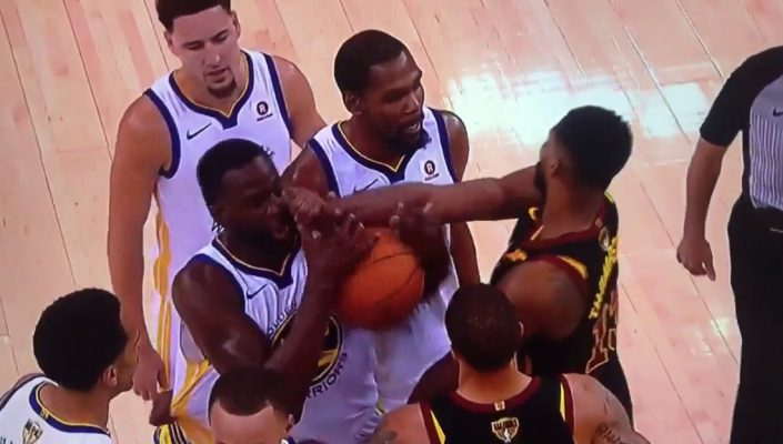 Tristan Thompson Draymond Green