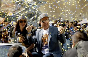 Joe Lacob Warriors Championship Parade
