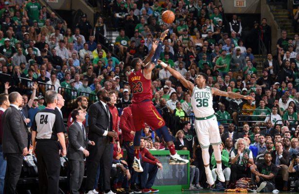LeBron James vs. Celtics
