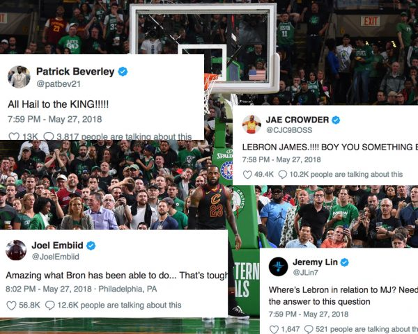 Players React to LeBron James Reaching Finals