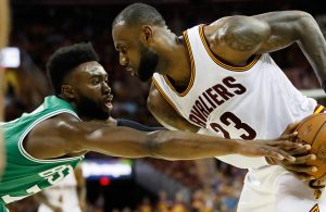 Jaylen Brown vs. LeBron James Cavs Celtics