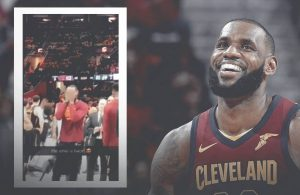LeBron James Shares Precious Moment With Daughter During Game 3