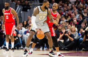 LeBron James Cavs and Houston Rockets