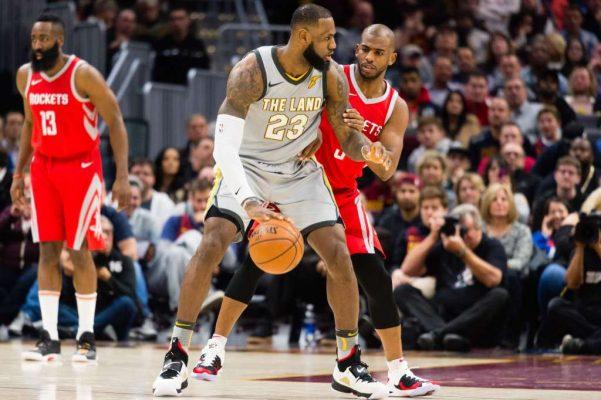 LeBron James Houston Rockets