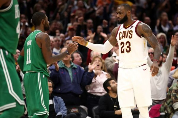 Kyrie Irving and LeBron James Cavs Celtics