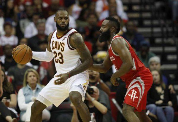 LeBron James Cavs Rockets