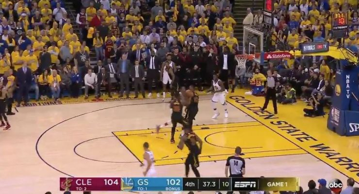 Kevin Durant Charge on LeBron James