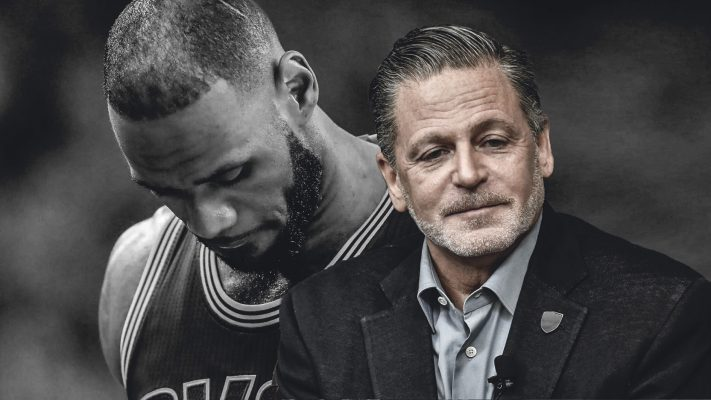 LeBron James and Dan Gilbert Cavs