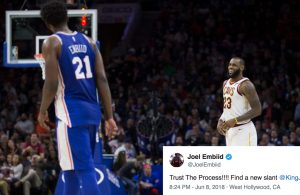 Joel Embiid Recruiting LeBron James