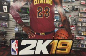 LeBron James NBA 2K19
