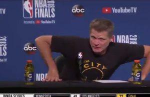 Steve Kerr NBA Finals postgame