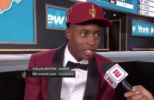 Collin Sexton LeBron James NBA Draft