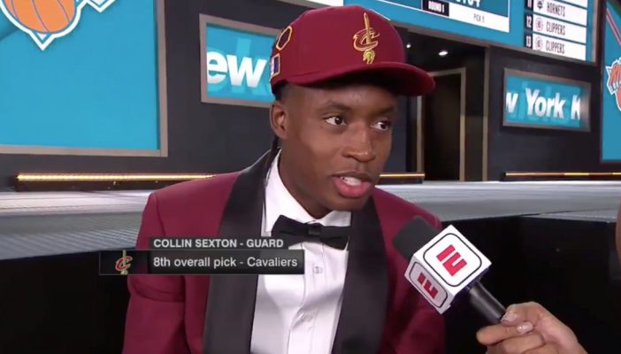 Collin Sexton LeBron James NBA Draft