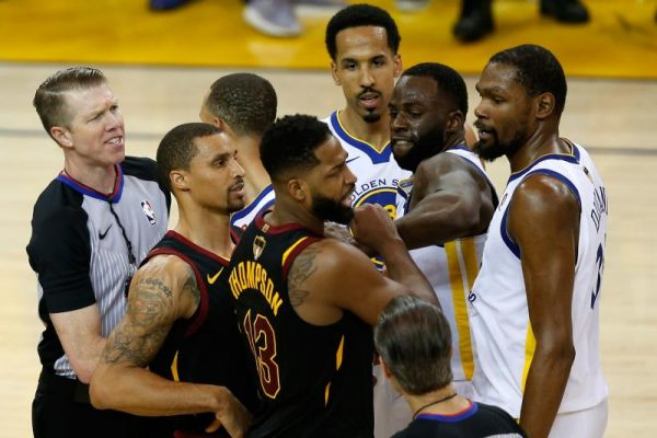 Tristan Thompson Leaves Interview After Question About Steph Curry