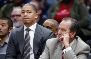 Tyronn Lue and Phil Handy