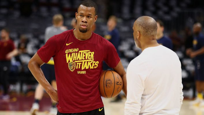Cavaliers' Rodney Hood says playing in Cleveland 'has been tough'