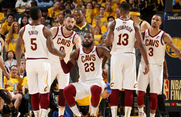 LeBron James Cavs NBA Finals