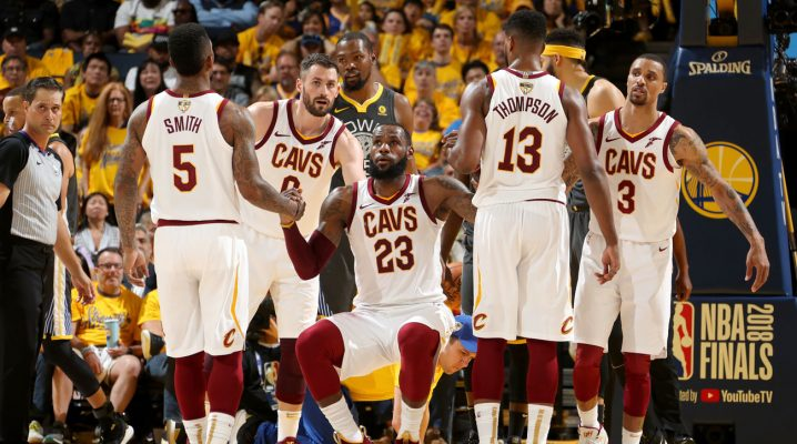 Warriors Sweep The Cavaliers In NBA Finals 4-0