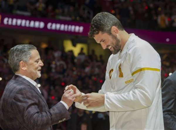 Dan Gilbert and Kevin Love
