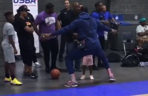 LeBron James Collin Sexton Defense Daughter