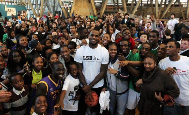 LeBron James I Promise Campaign