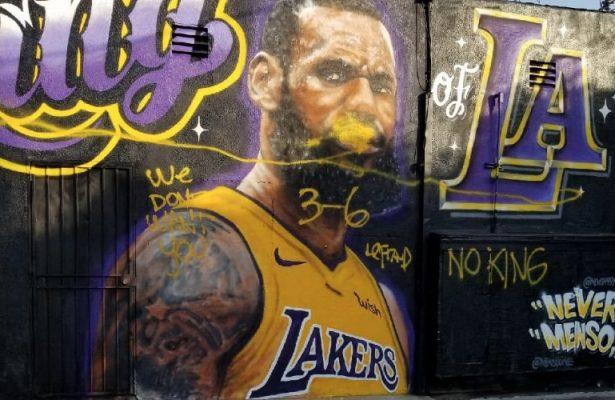 LeBron James Hater Los Angeles