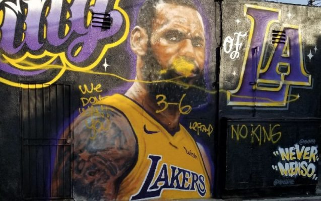 LeBron James Hater Los Angeles