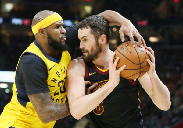 Trevor Booker and Kevin Love