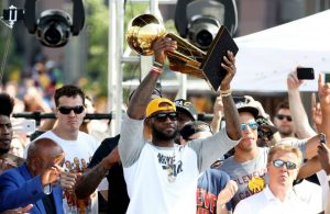 LeBron James Cavs Championship Parade