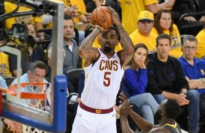 JR Smith Cavs and Houston Rockets