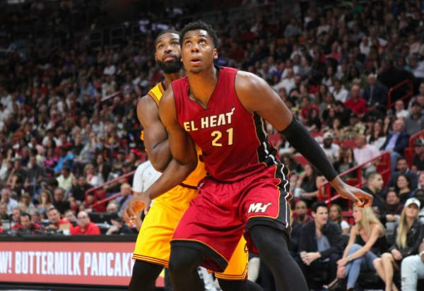 Tristan Thompson and Hassan Whiteside