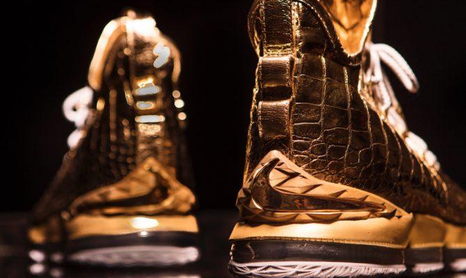LeBron James 100K Shoes