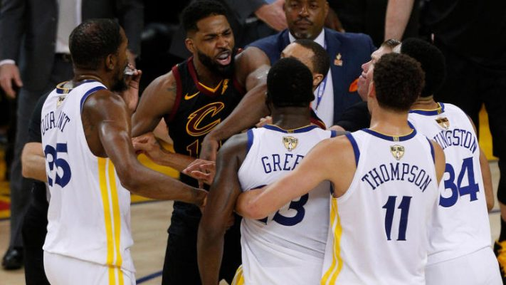 Tristan Thompson vs. Warriors