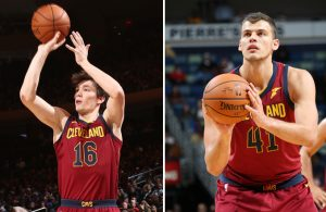Cedi Osman and Ante Zizic