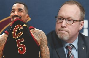 J.R. Smith and David Griffin