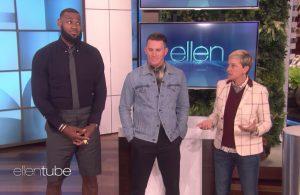 LeBron James, Channing Tatum, Ellen DeGeneres