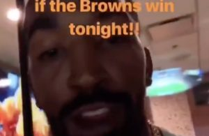 Shirtless J.R. Smith Browns