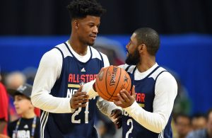 Kyrie Irving and Jimmy Butler