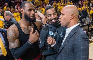 LeBron James, J.R. Smith, and Richard Jefferson