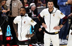 J.R. Smith and Larry Nance Jr.