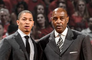 Tyronn Lue and Larry Drew Cavs