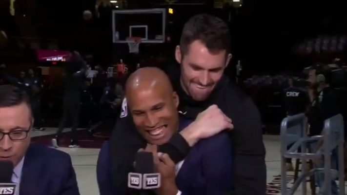 Richard Jefferson and Kevin Love