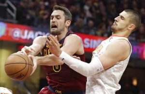 Kevin Love Atlanta Hawks