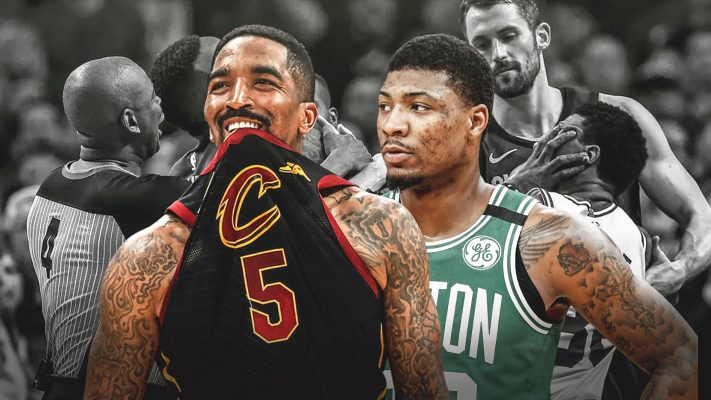 Celtics NBA fines Celtics' Smart, Cavs' Smith for shoving match