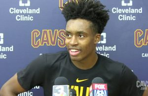 Collin Sexton Cavs Interview