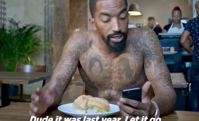 J.R. Smith Cavs Grinch