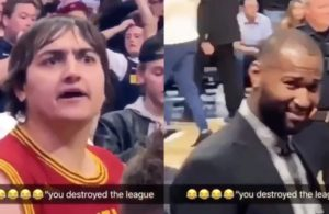 Cavs Fan and DeMarcus Cousins