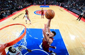 Larry Nance Jr. Cavs vs. Pistons