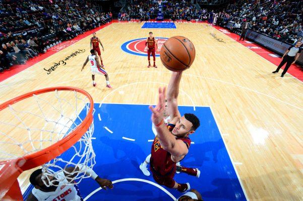 Larry Nance Jr. Cavs vs. Pistons