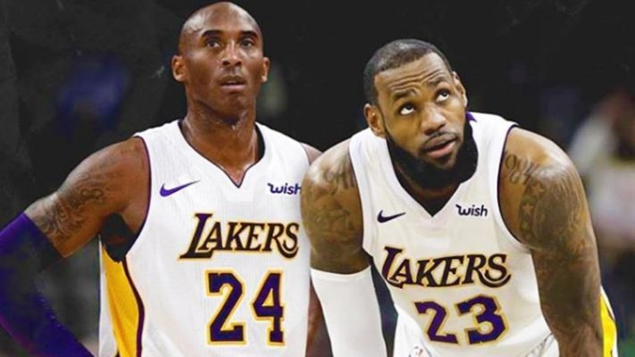 fa3bd639d33 Video: Kobe Bryant Says He'll Think About Joining LeBron's Lakers ...